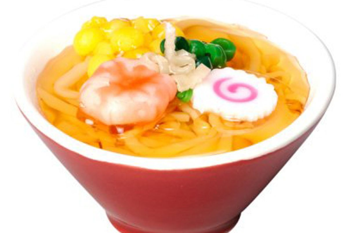japan trend shop ramen alley noodles candle