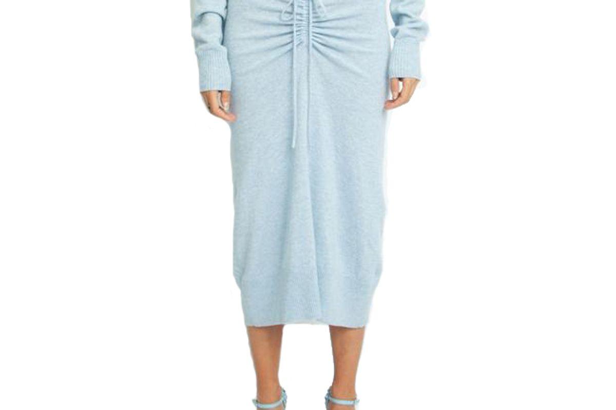christopher esber ruched drape skirt
