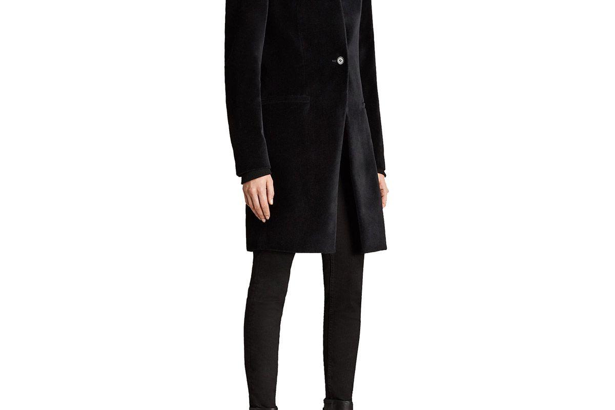 Leni Velvet Coat