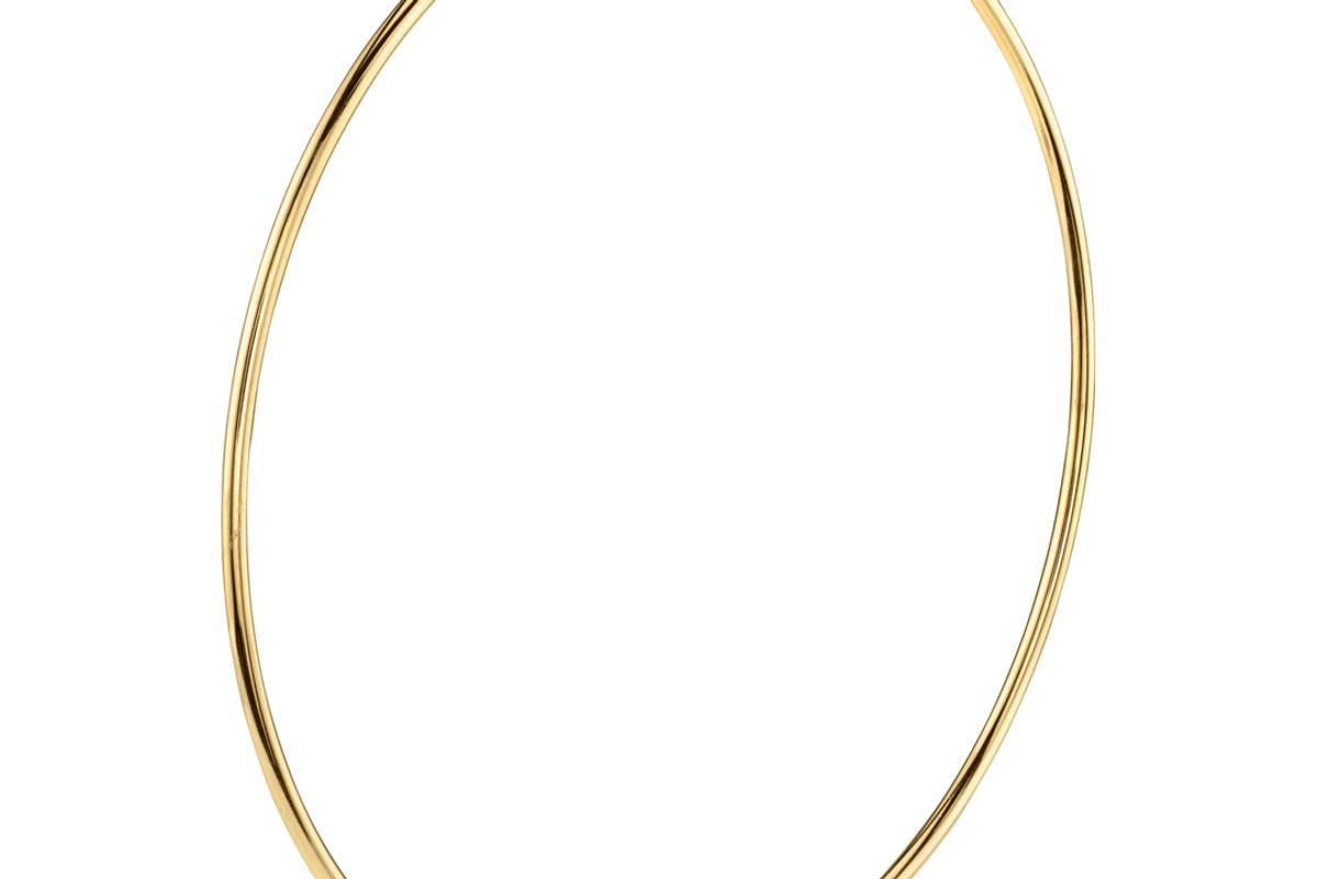 the last line perfect large gold hoop