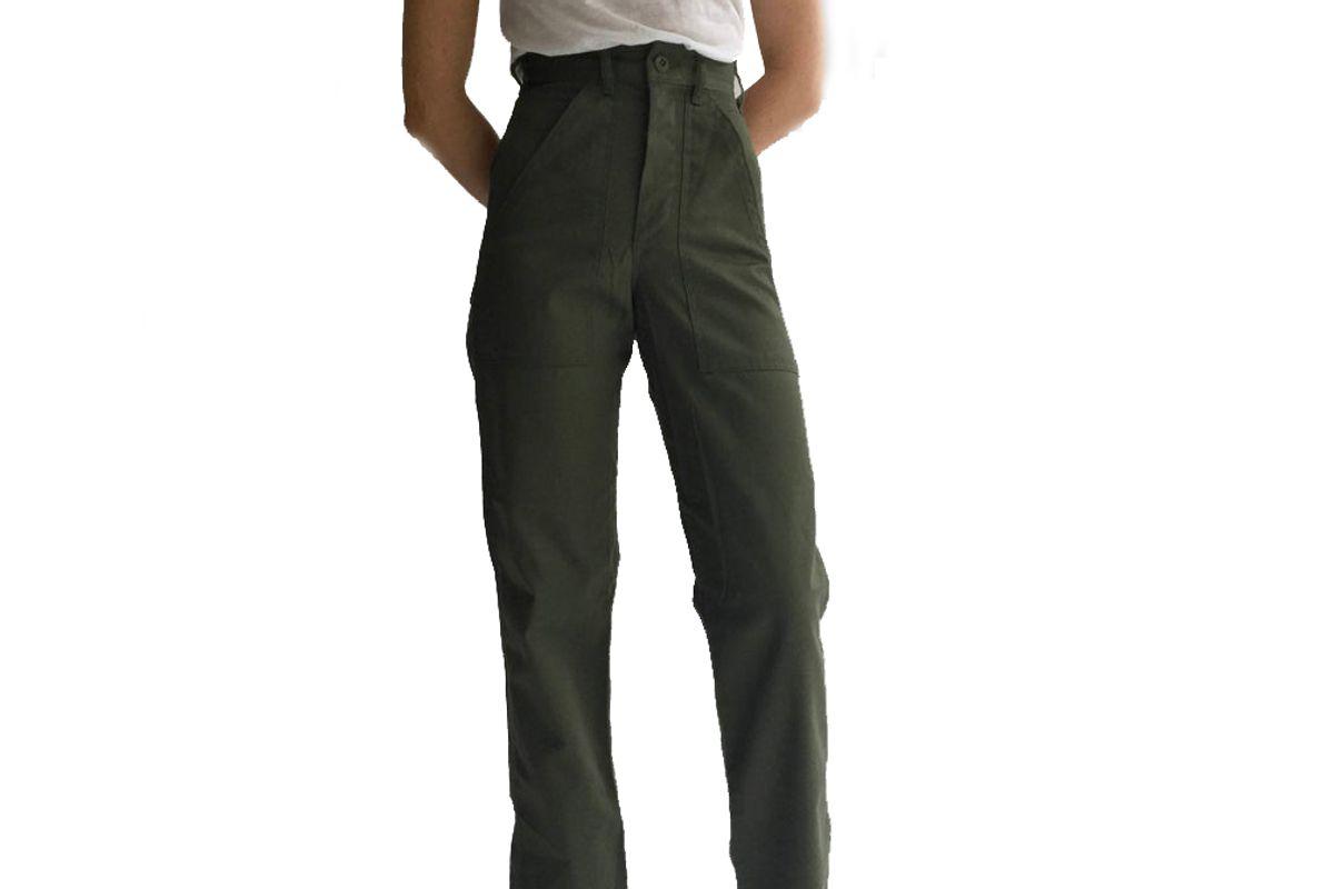 rawson studio vintage army pants