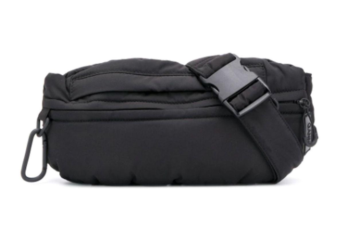 ganni tech fabric belt bag