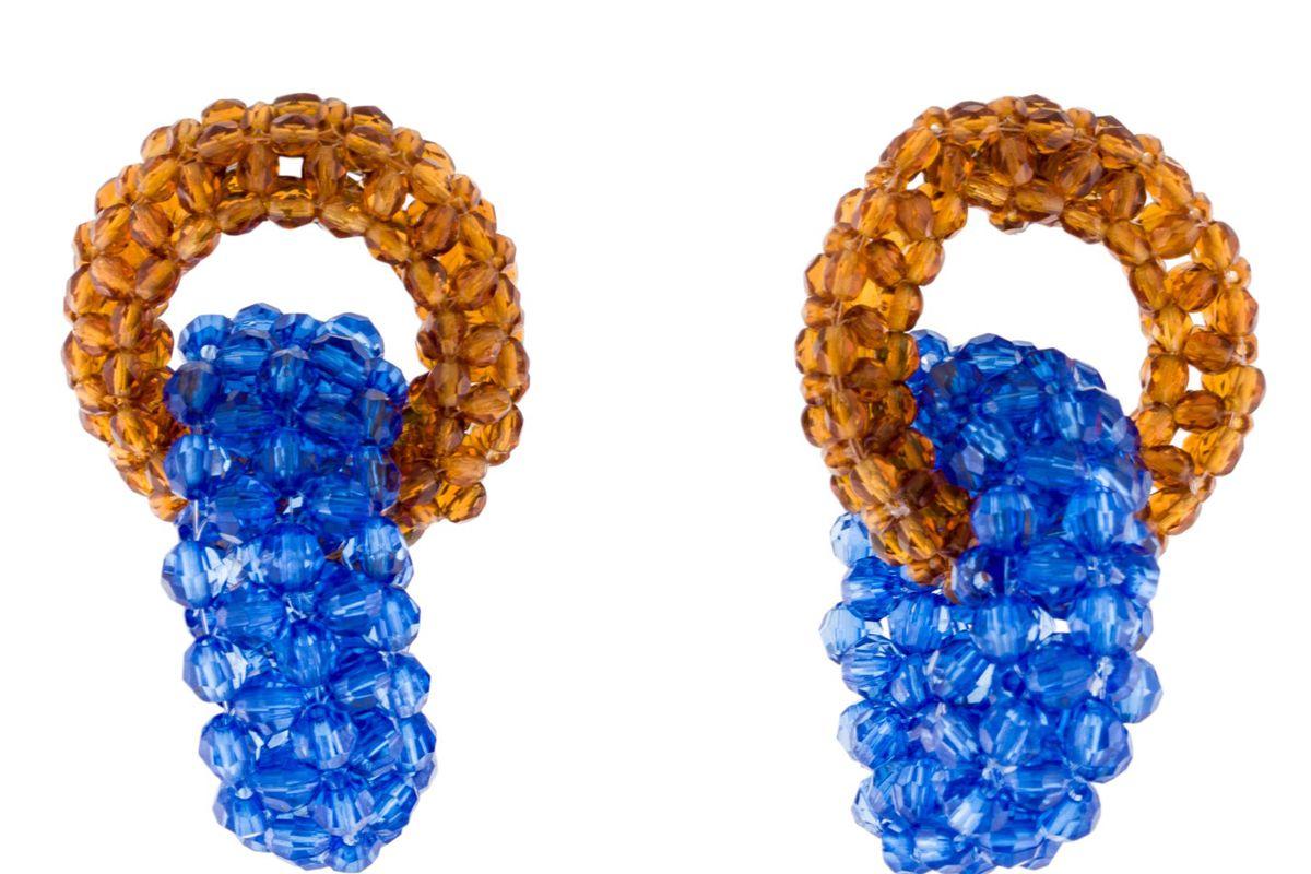 dries van noten beaded earrings
