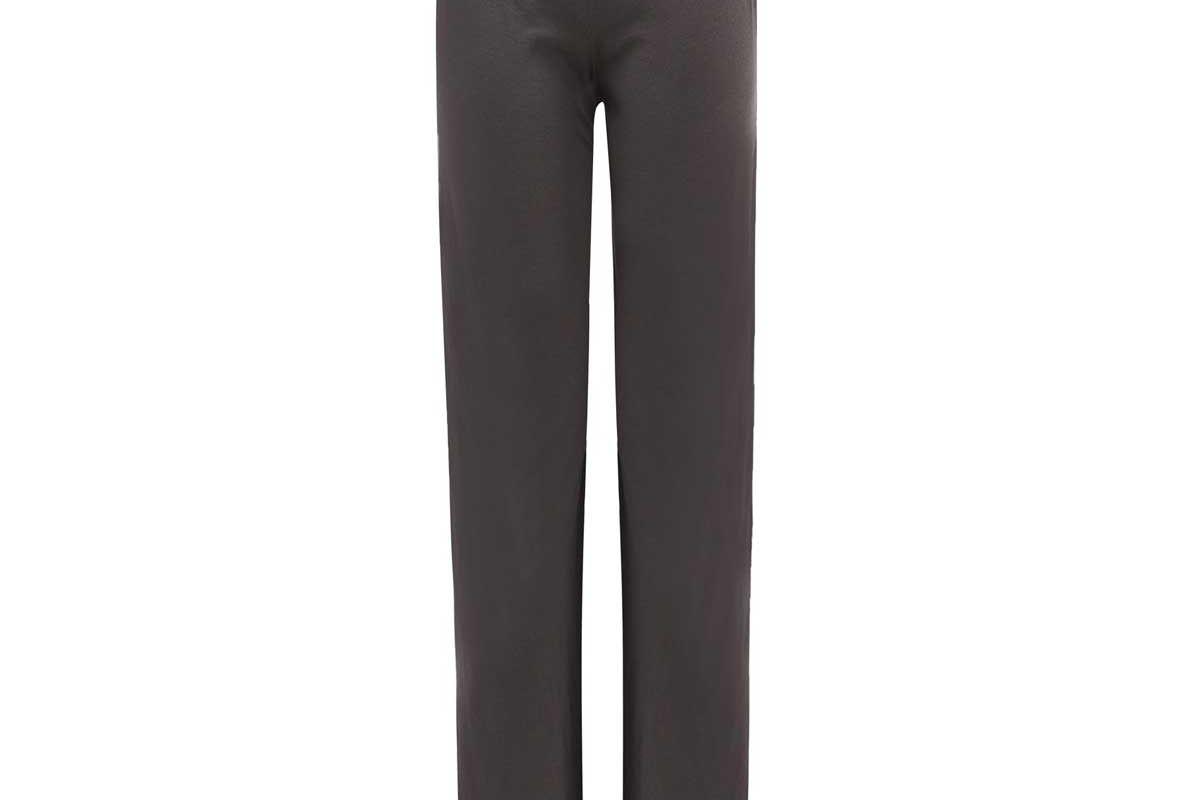 lunya flared organic cotton payjama trousers