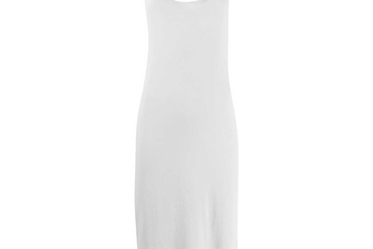 raquel allegra cotton tank dress