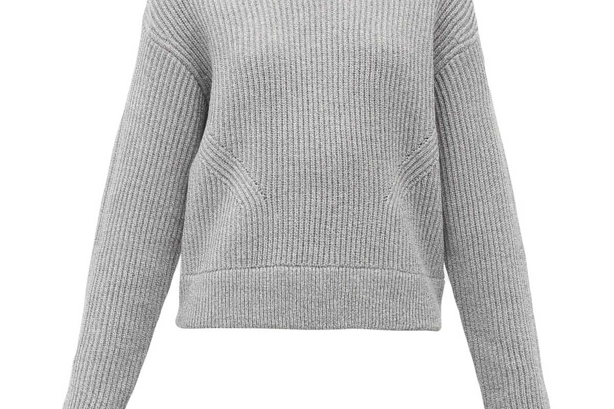 proenza schouler white label ribbed wool sweater