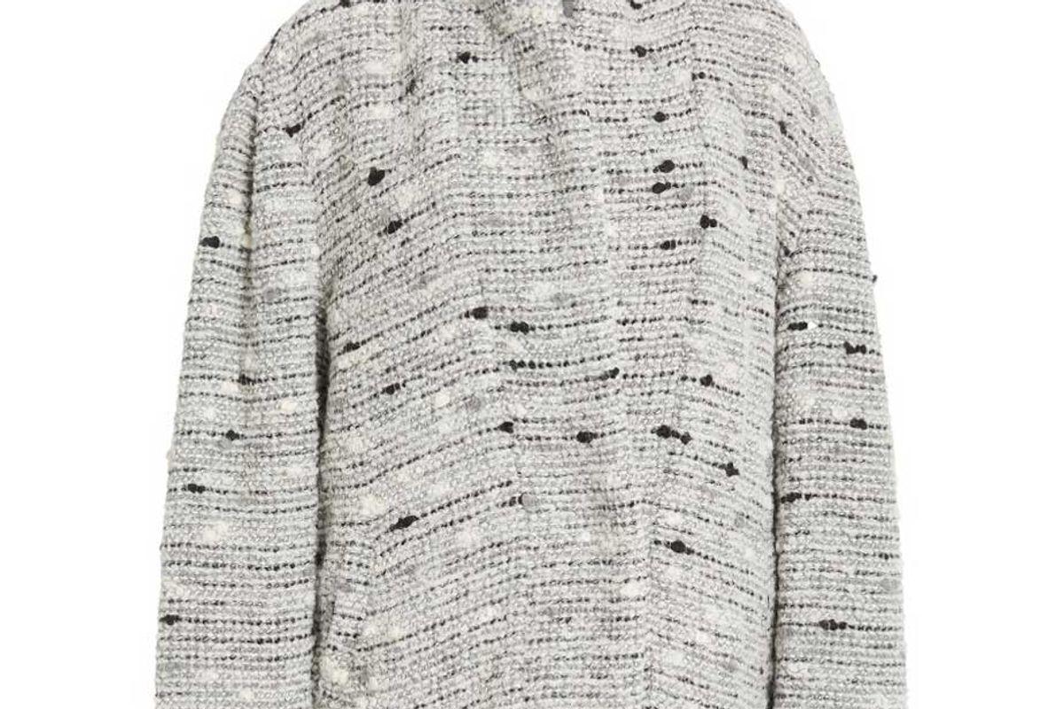 isabel marant fantasy belted tweed jacket