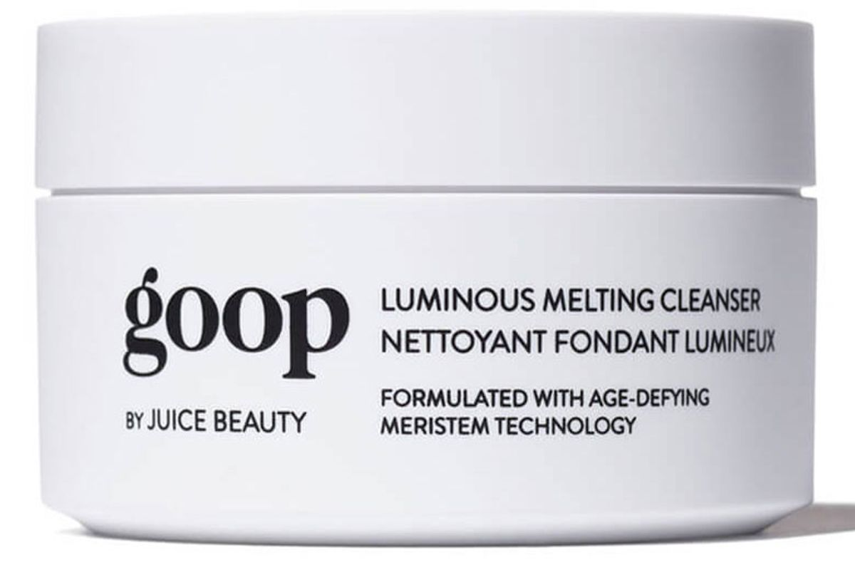 goop luminous melting cleanser