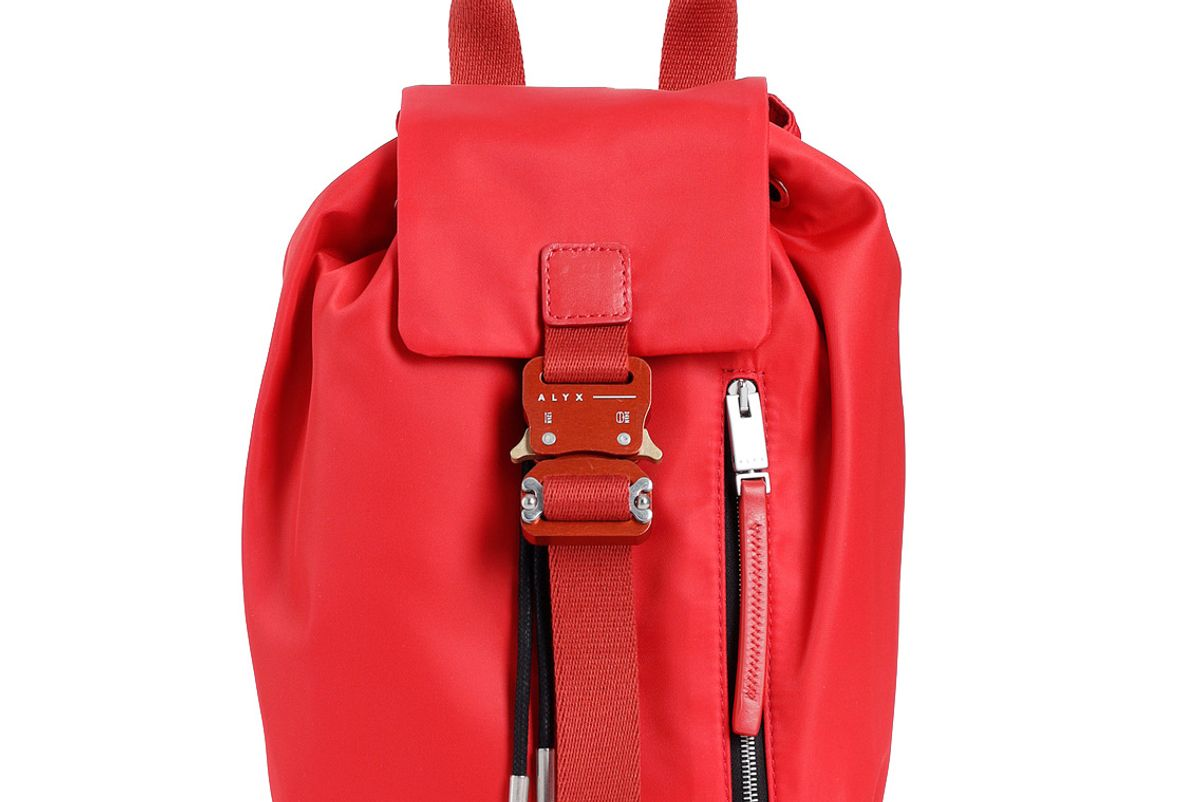 alyx red baby x backpack