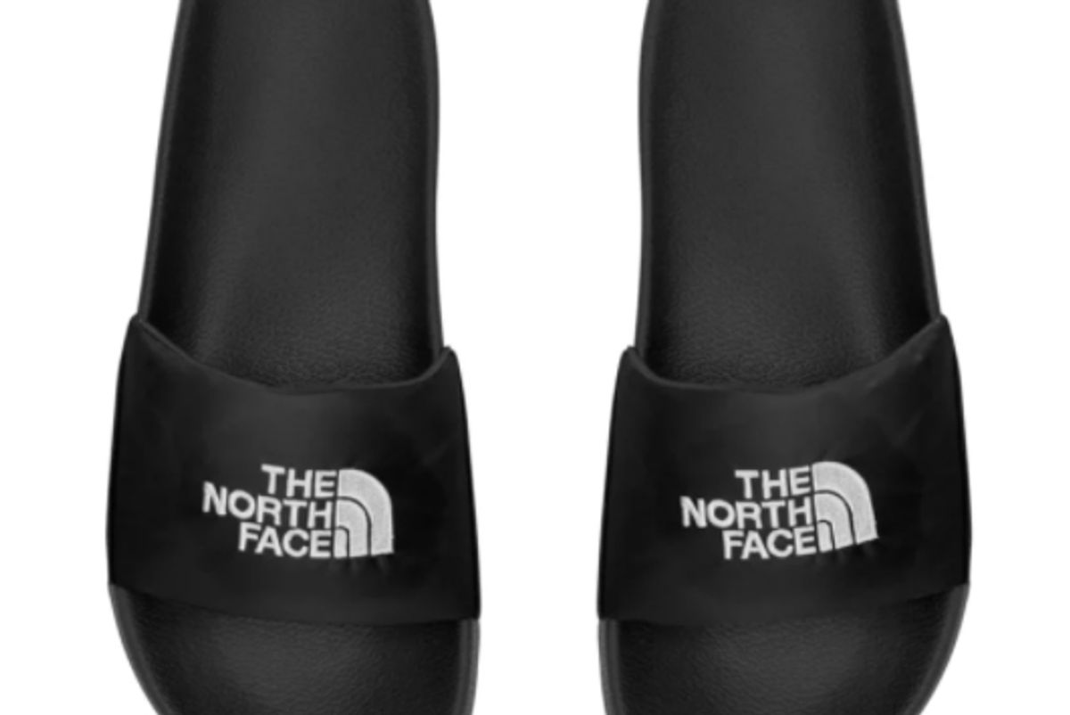 the north face mens nuptse slide