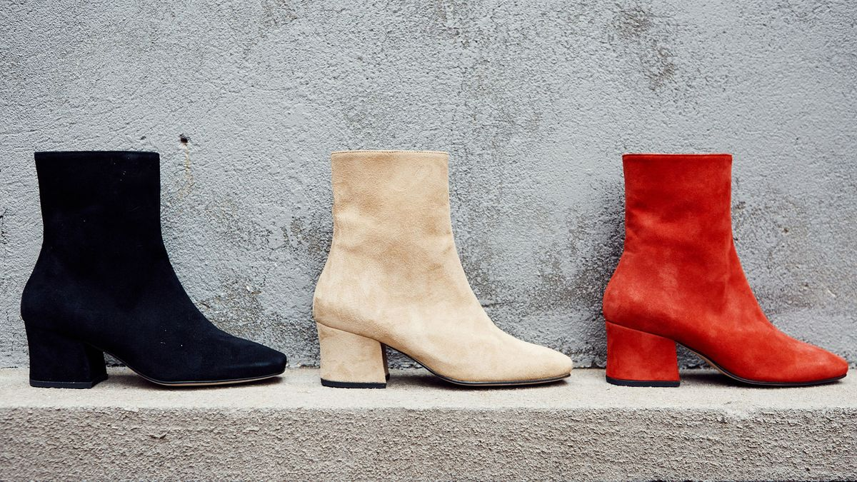 shop heeled boots for fall