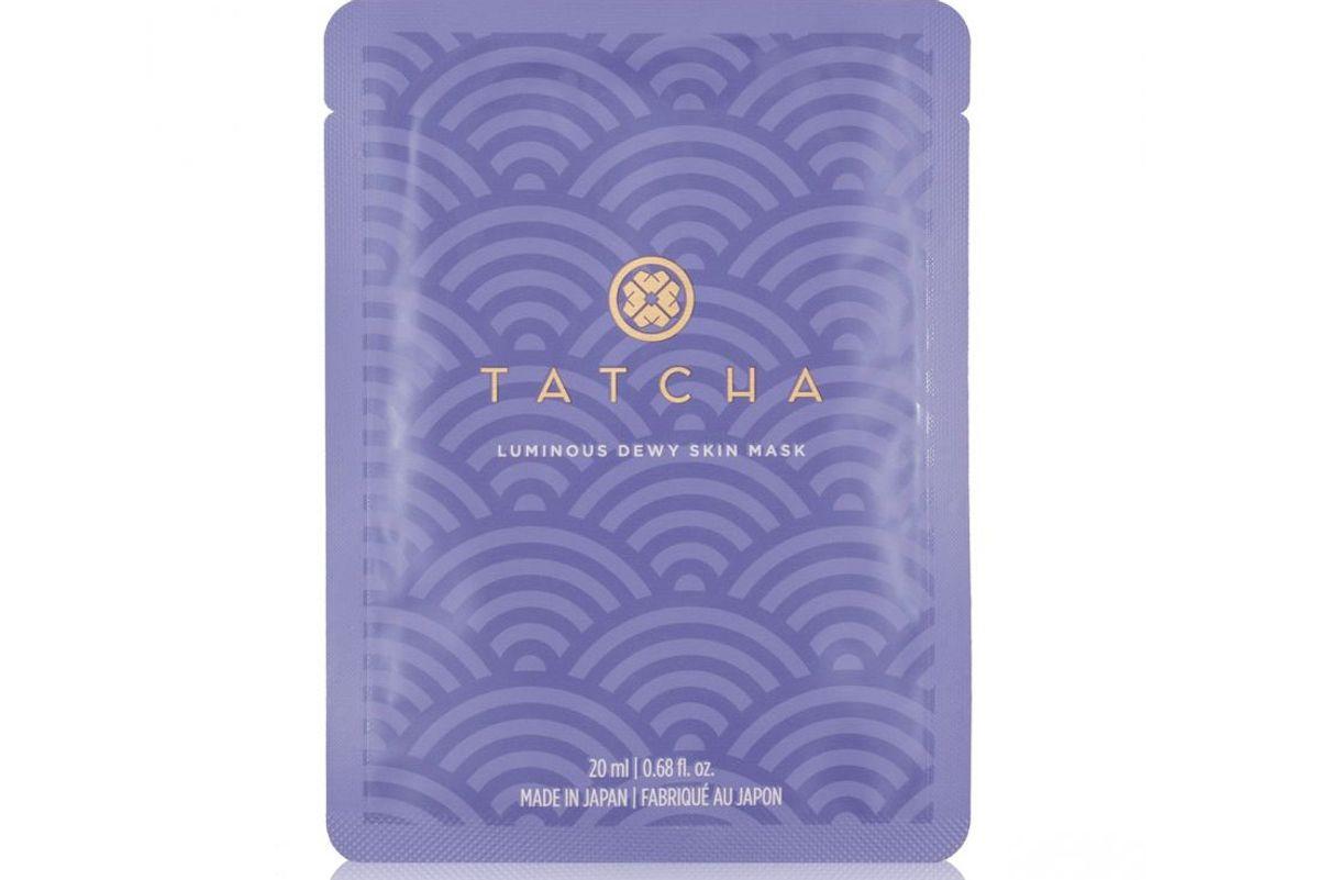 tatcha luminious dewy skin mask