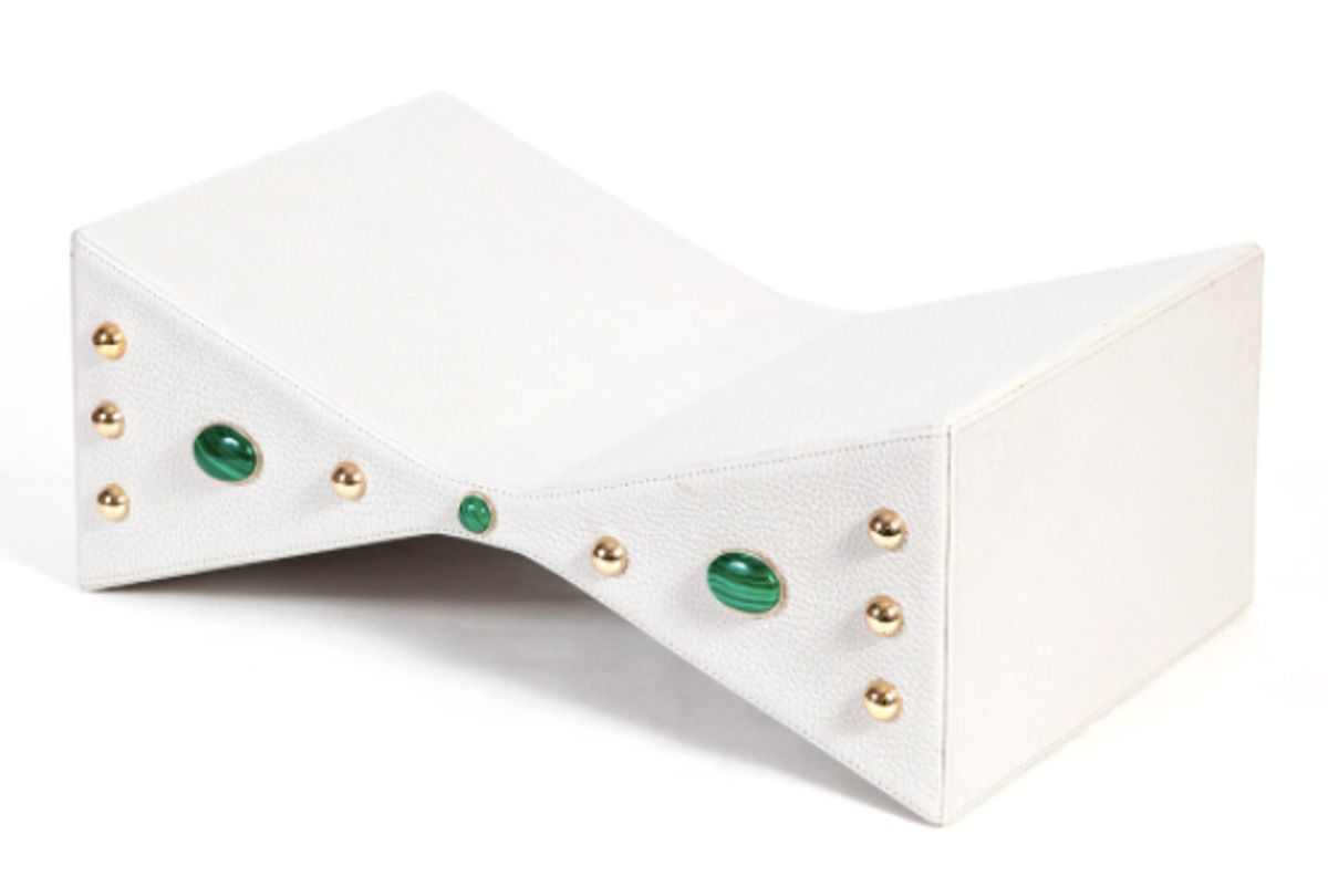 madame malachite jeweled papillon bookstand
