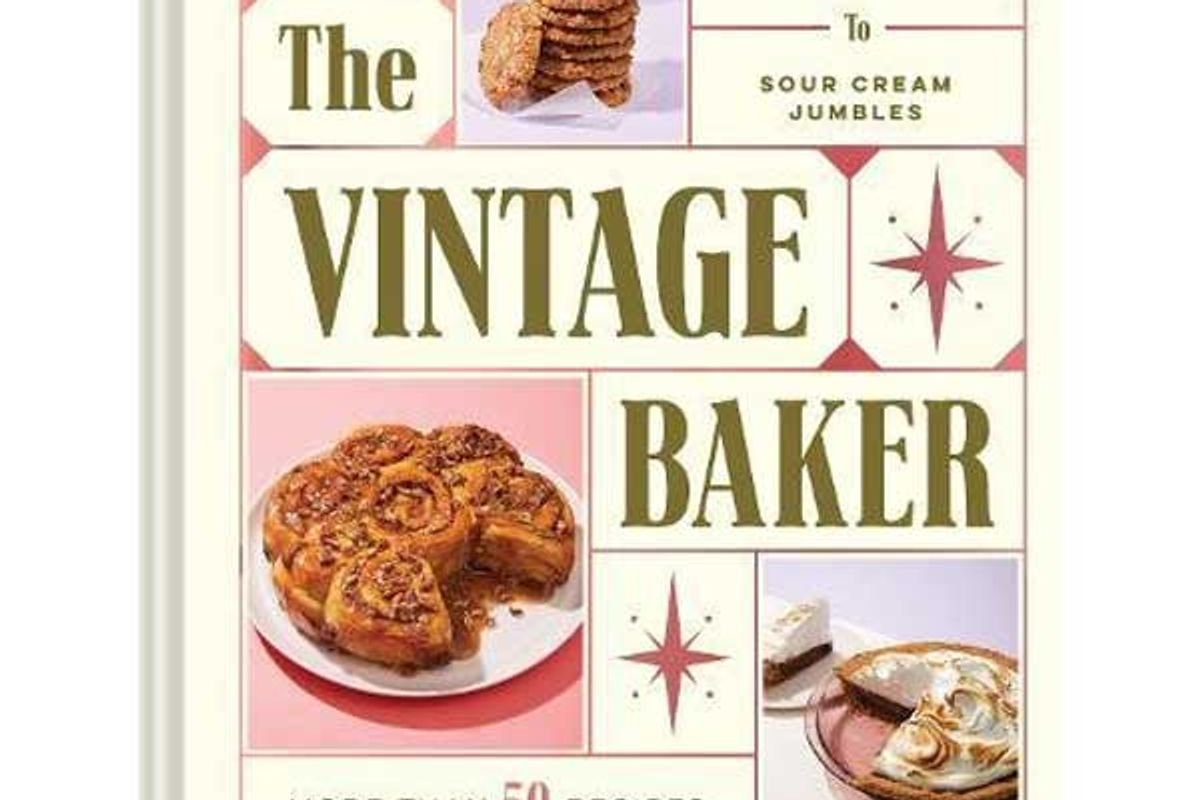 jessie sheehan the vintage baker more than 50 Recipes from butterscotch pecan curls to sour cream jumbles
