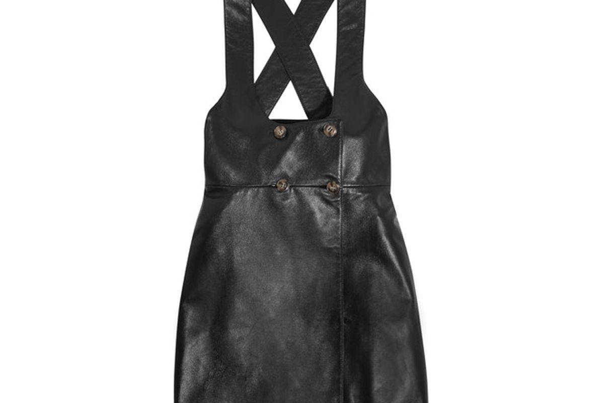 Alexachung Leather Dress