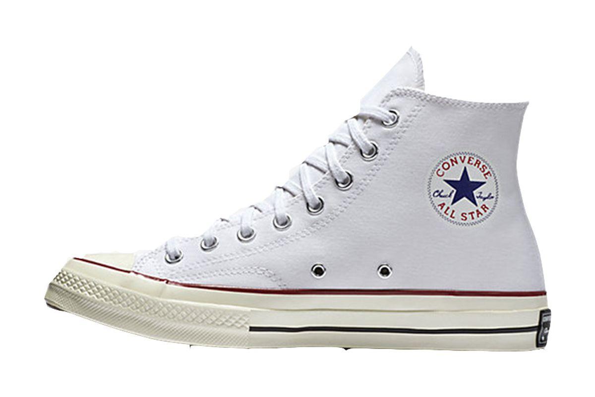 White Classic Converse