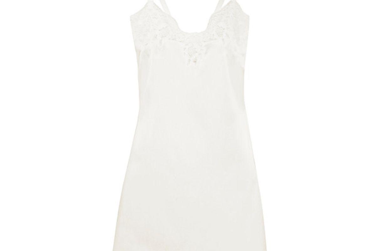 Dolce & Gabbana White Slip Dress