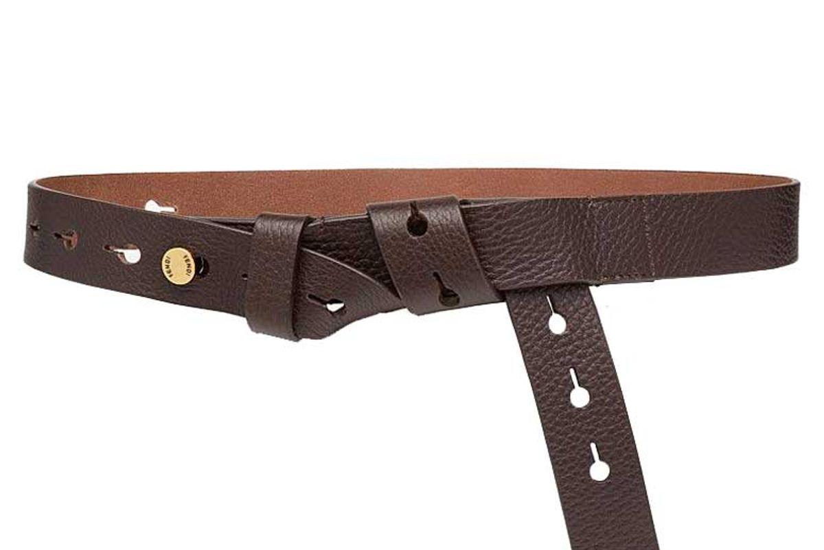 fendi belt brown leather belt