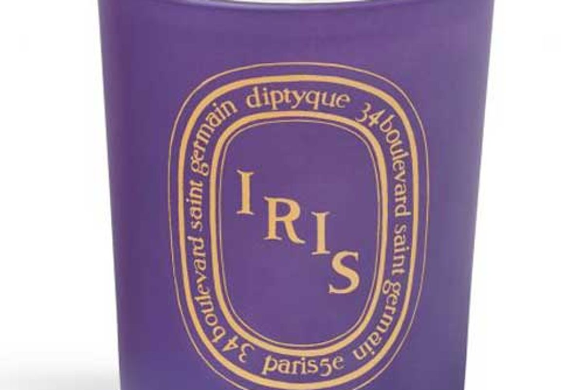 diptyque soft sweet iris blossom candle limited edition
