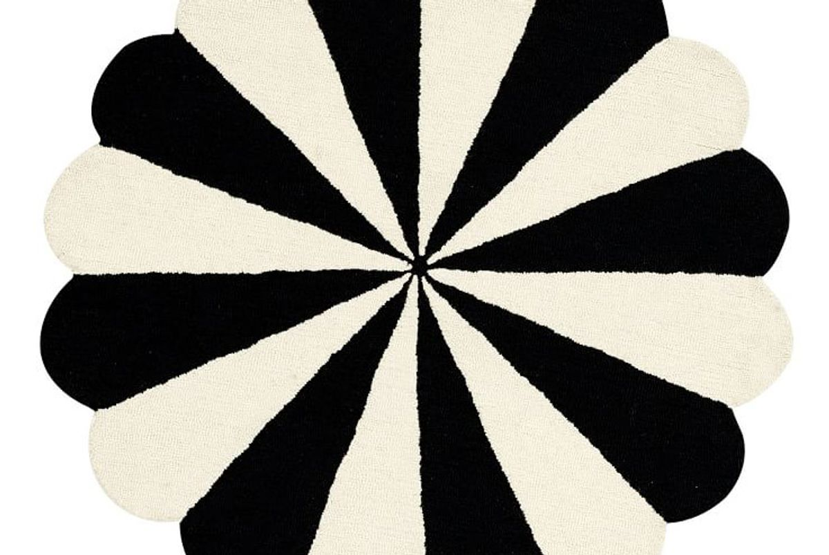 Umbrella Stripe Rug