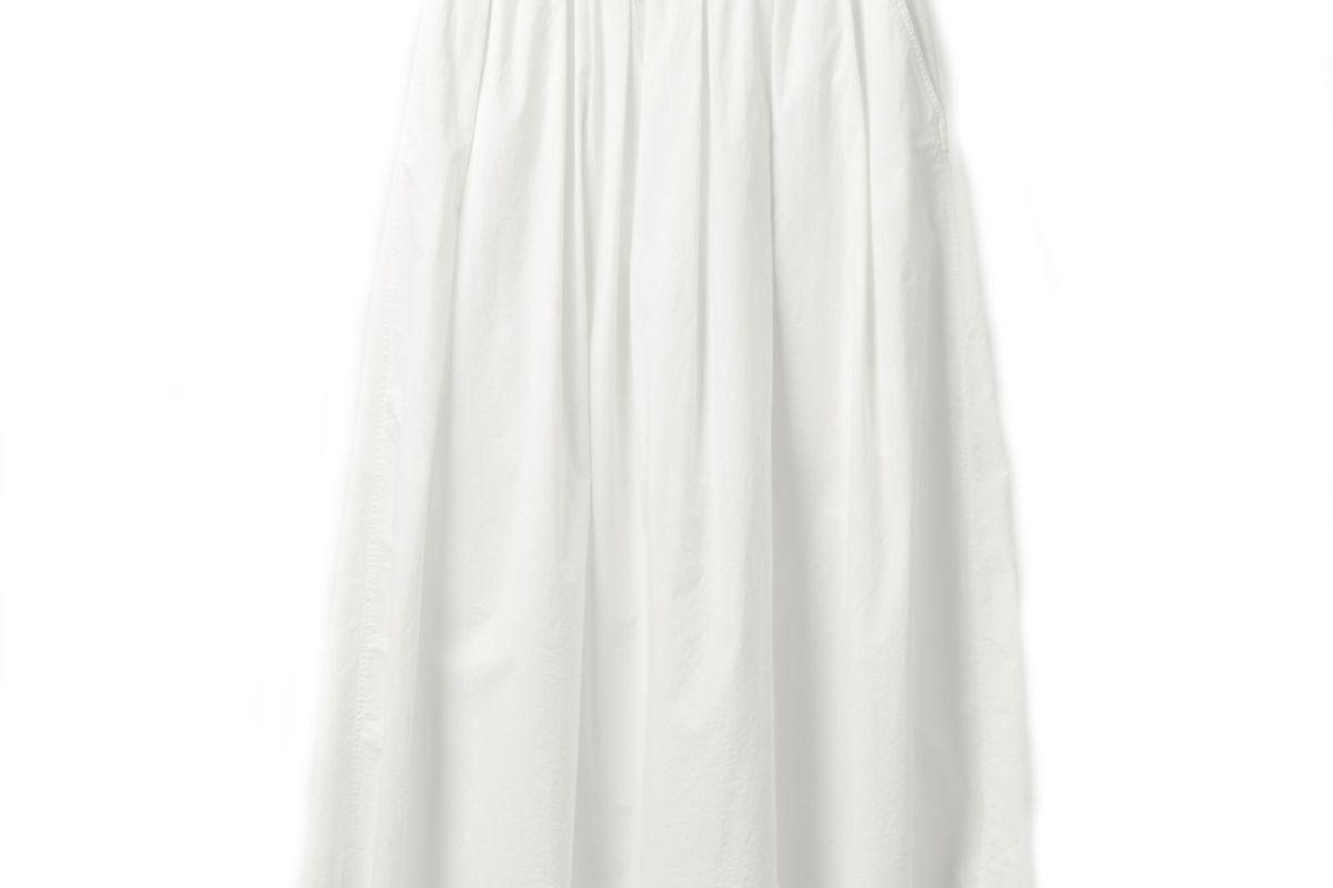 cos voluminous maxi skirt