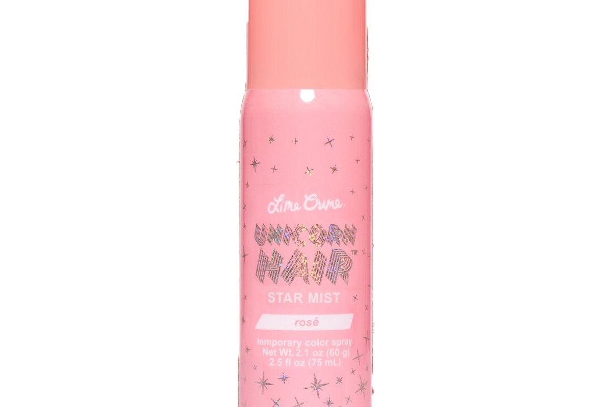lime crime unicorn hair star mist glitter spray