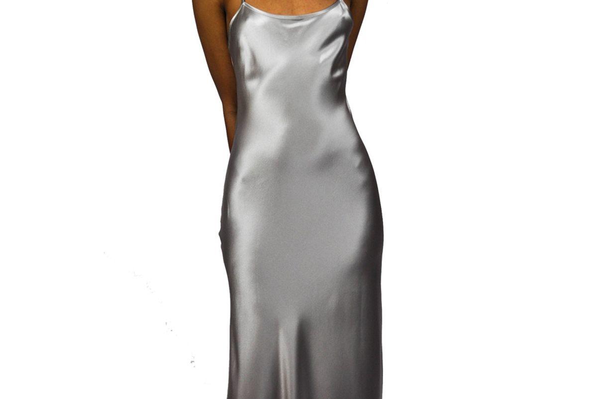 Liquid Silk Slip Dress