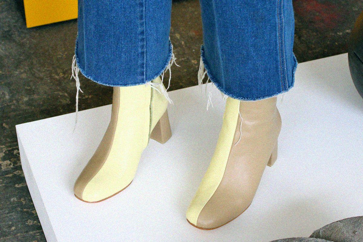 Agnes Split Toe Boot