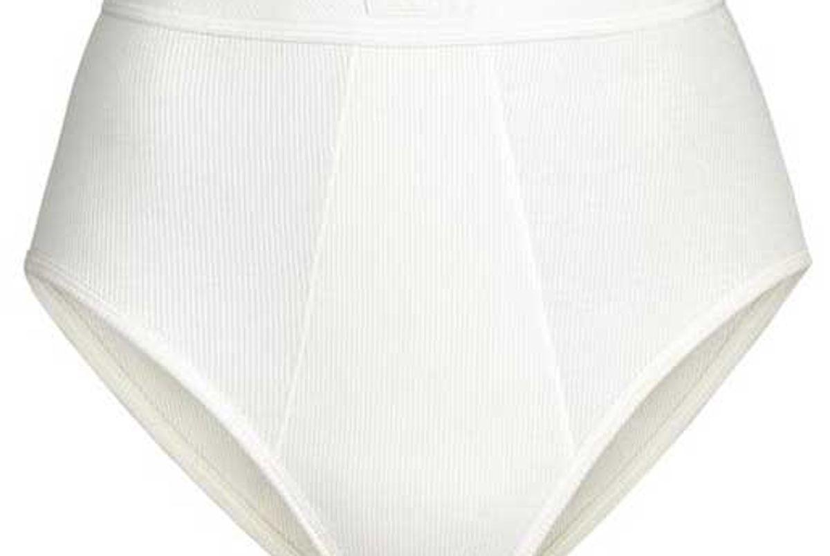 skims cotton rib brief