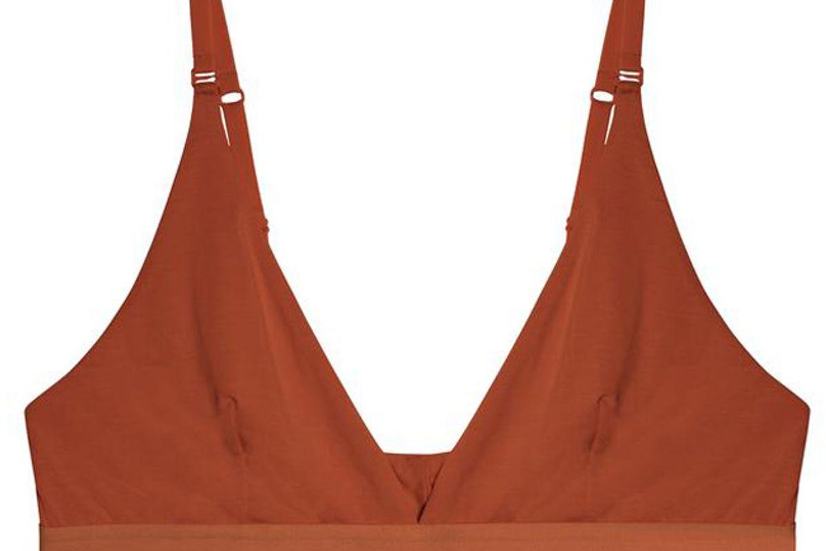 kit undergarments triangle pullover bra