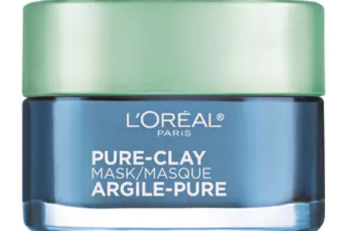 l'oreal pure clay clear and comfort mask