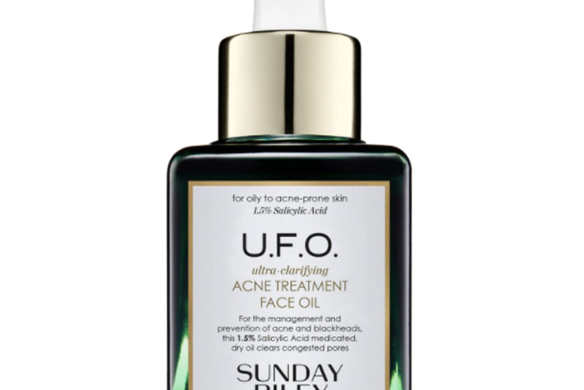 sunday riley u.f.o. ultra clarifying face oil