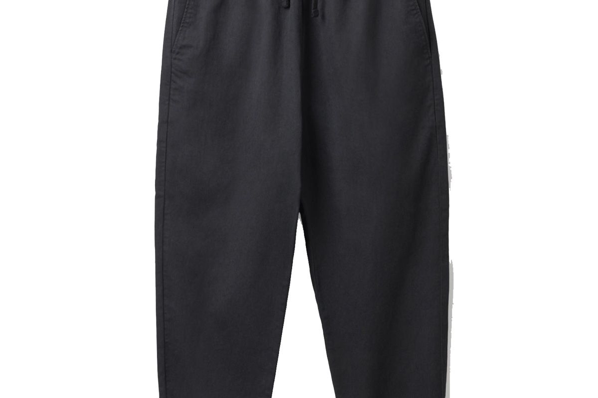 cos relaxed cotton linen trousers
