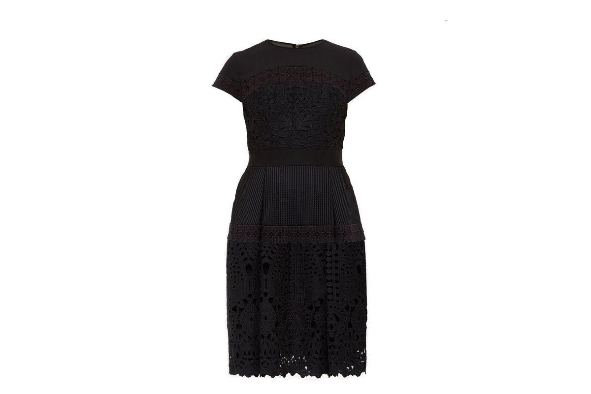 Jamisen layered lace dress