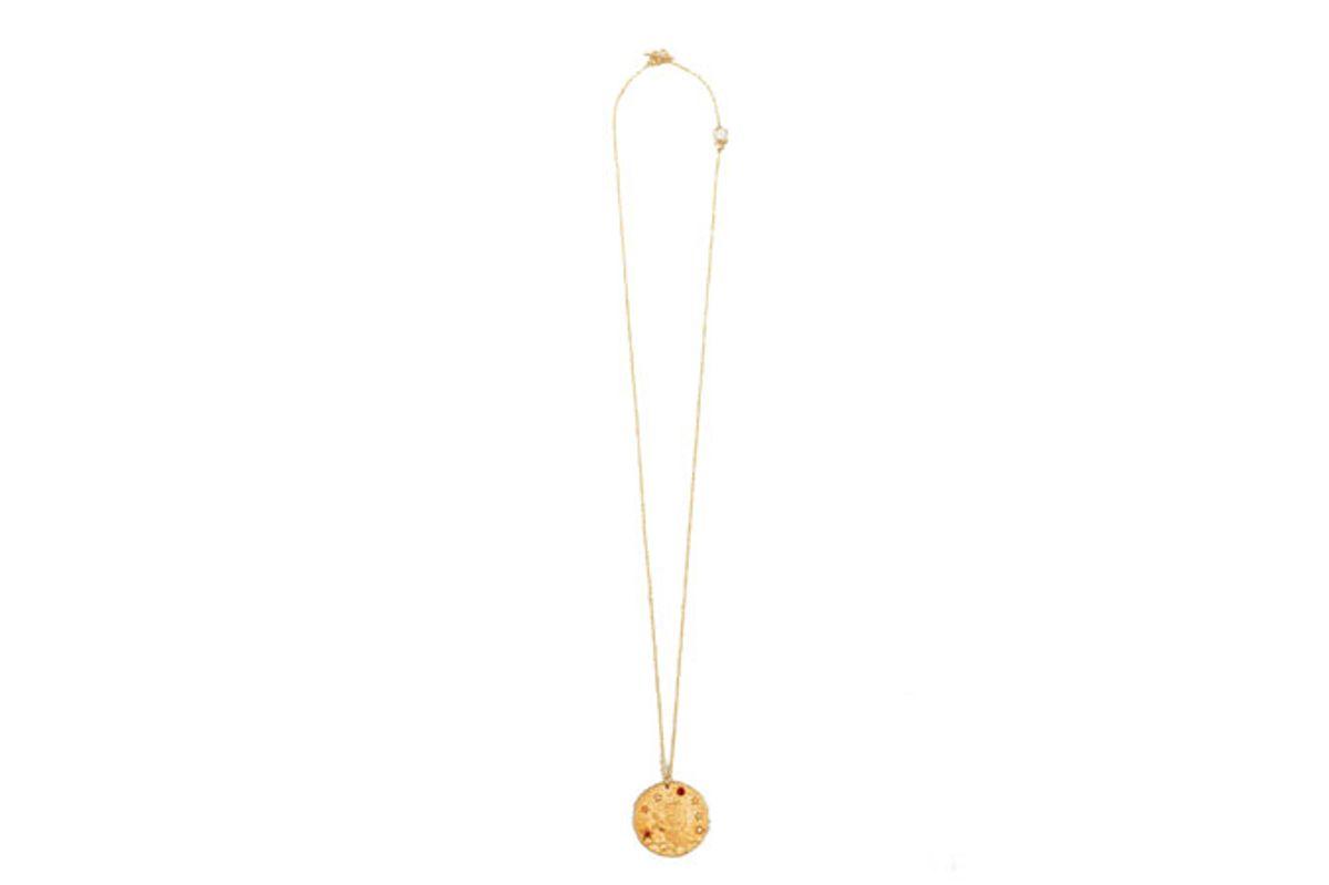 maje leo zodiac sign necklace