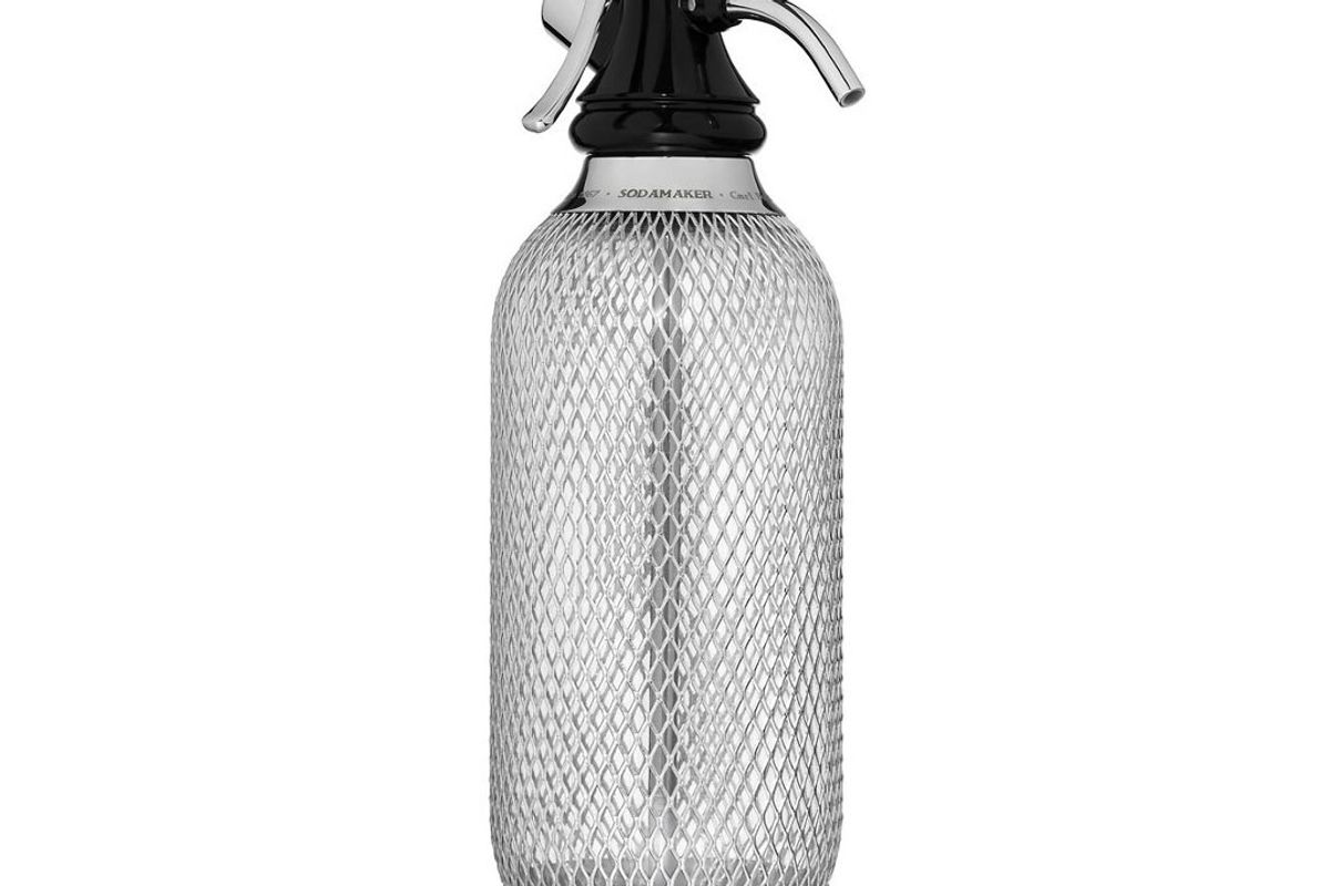 isi soda maker classic mesh 1 quarter soda siphon bottle