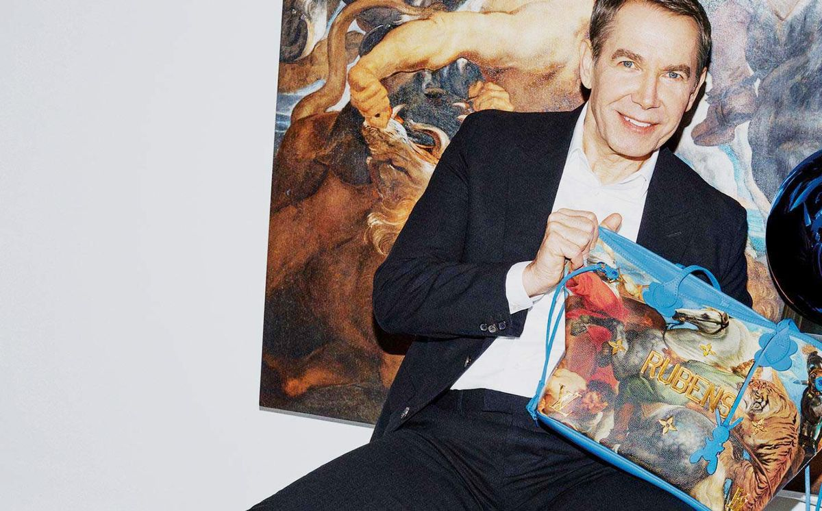 Louis Vuitton Collaborated with Jeff Koons on the Coolest Bags You'll Ever Own