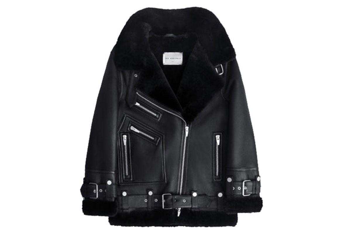 Moya III Oversized Shearling Jacket