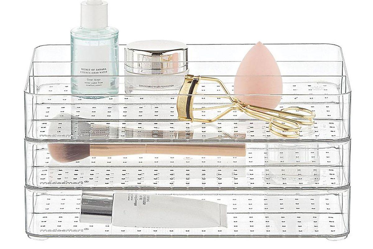 madesmart stacking makeup storage kit
