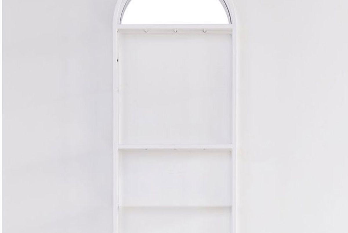 urban outfitters harper arc mirror wall shelf