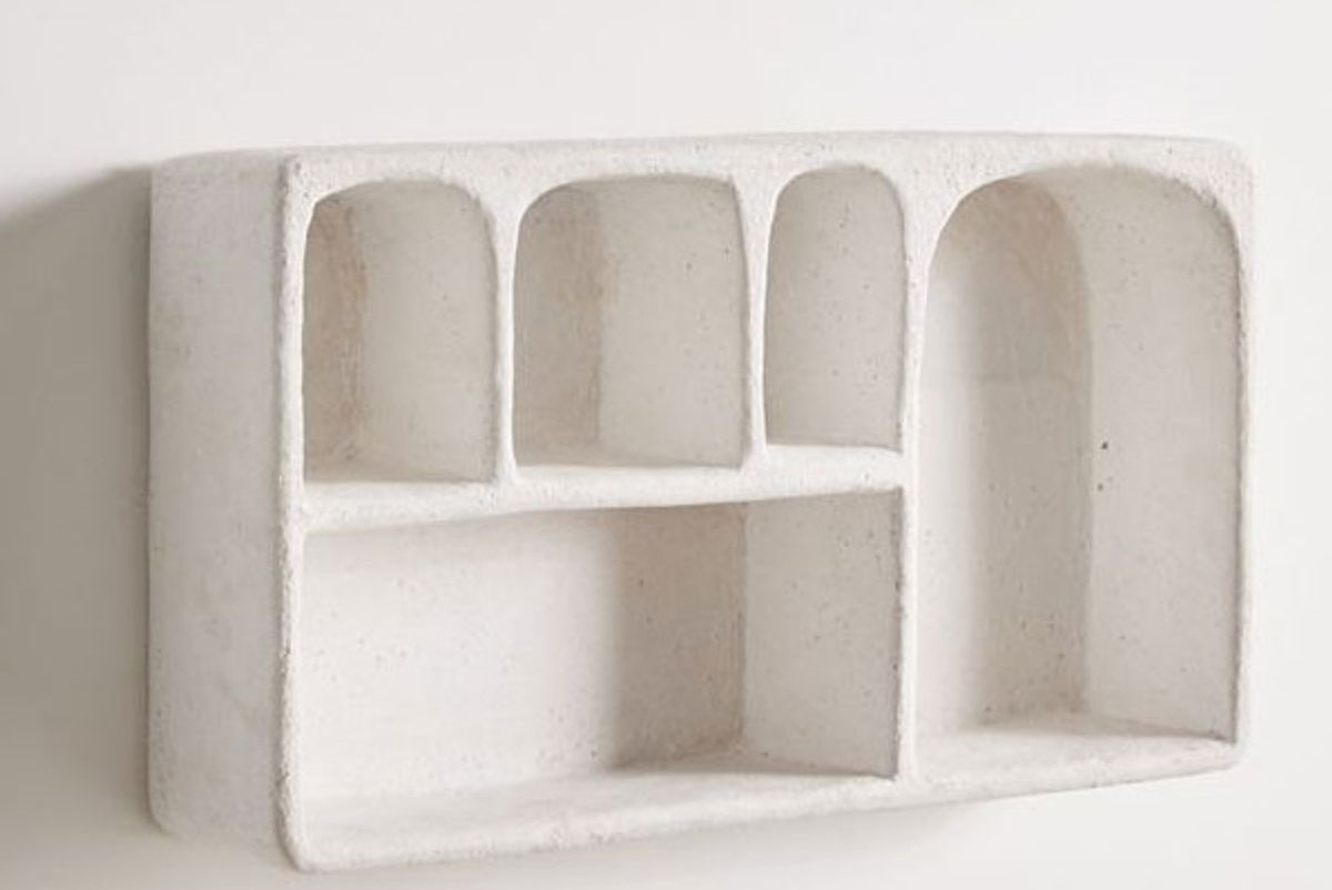 urban outfitters isobel concrete wall shelf