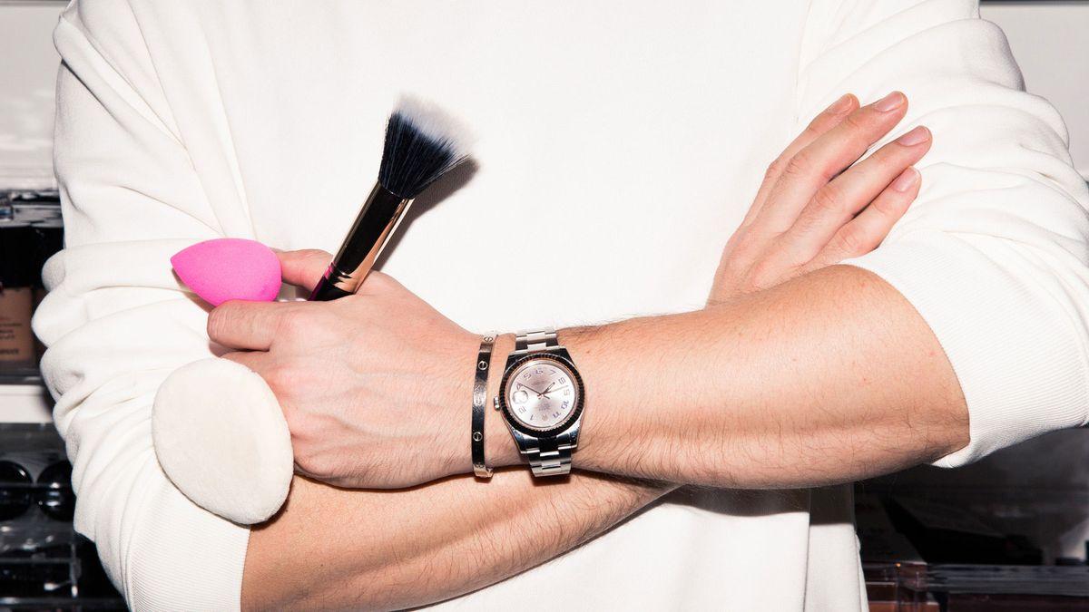 mario dedivanovic's makeup tips for glowing dewy skin