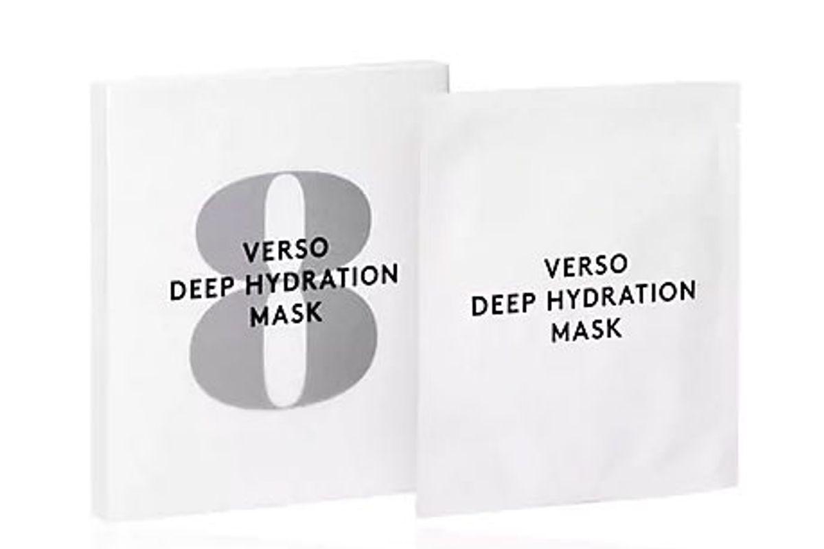 verso deep hydration facial mask