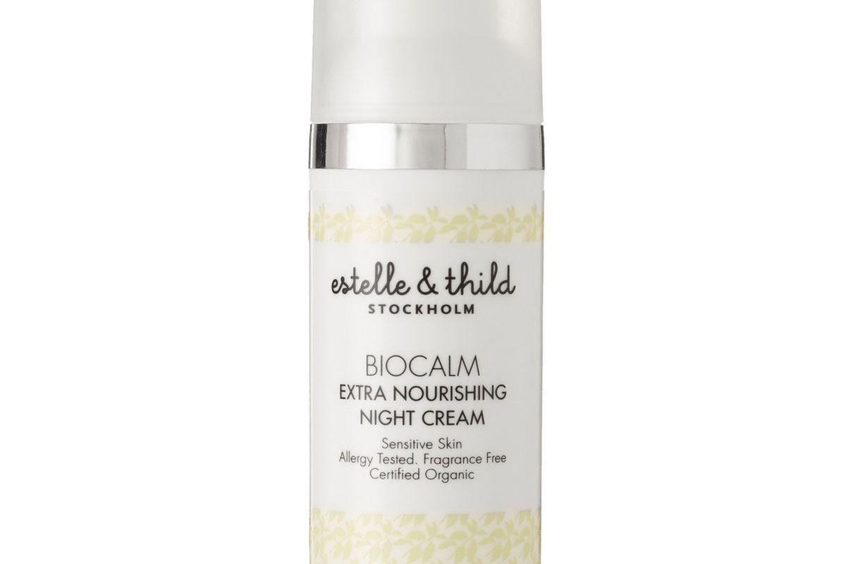 estelle and thild biocalm extra nourishing night cream