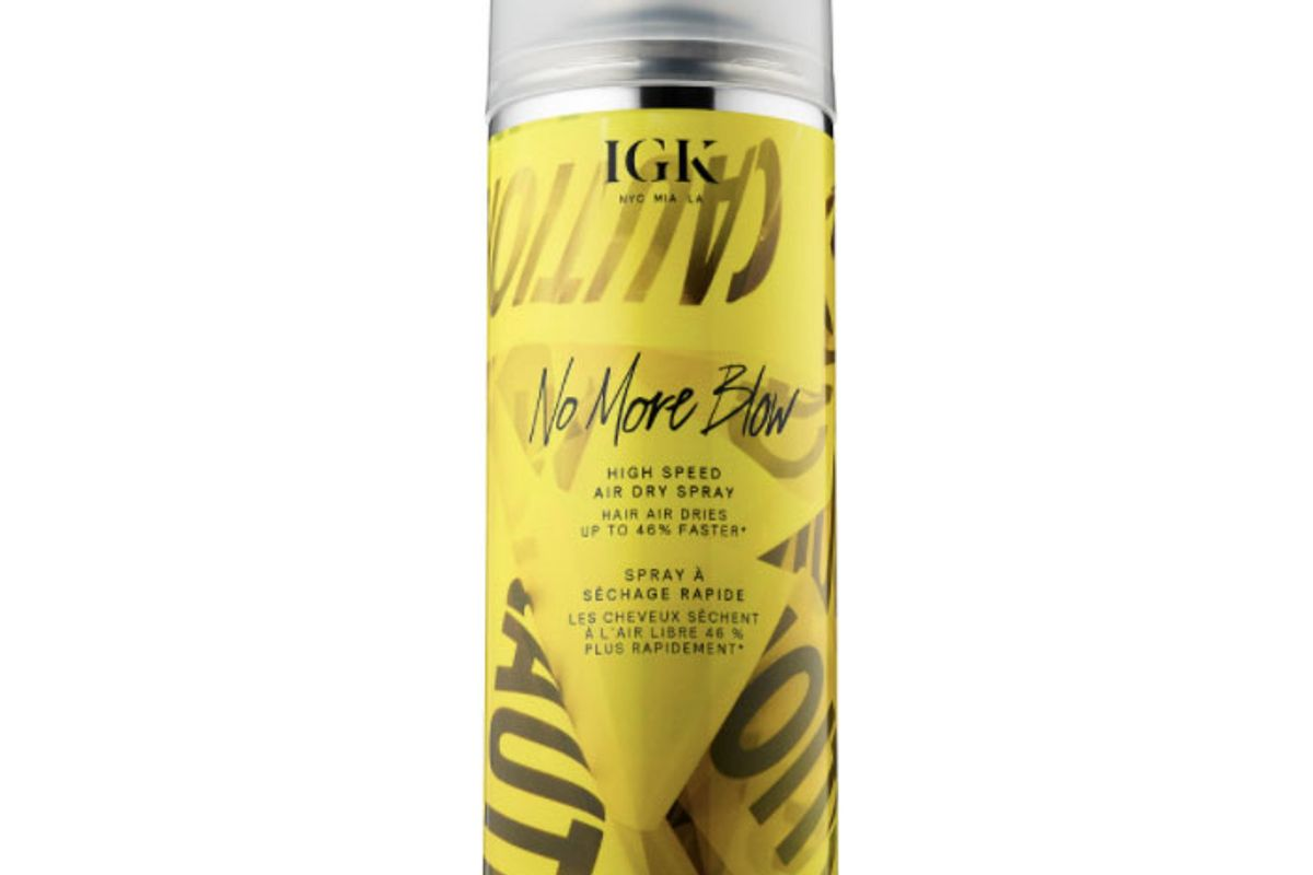 igk no more blow high speed air dry spray