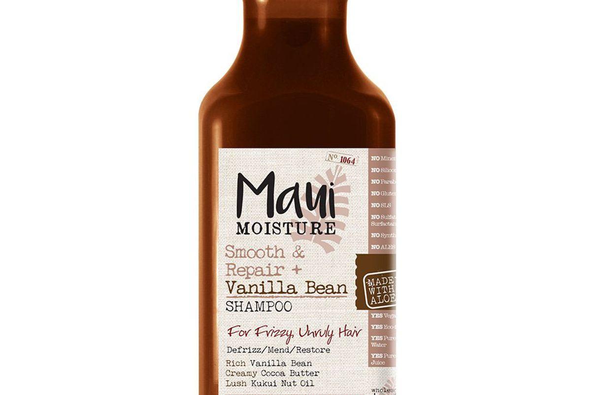 maui moisture smooth and repair vanilla bean shampoo