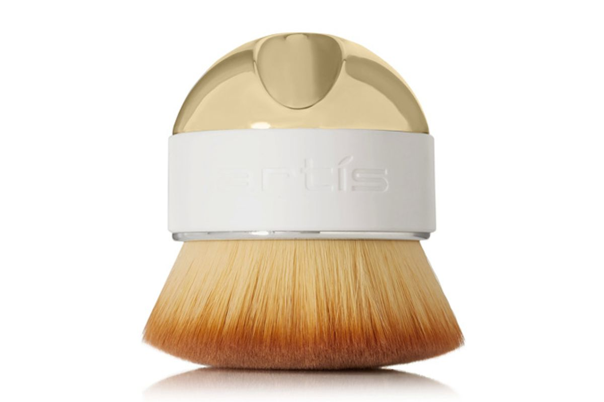 Elite Gold Palm Brush