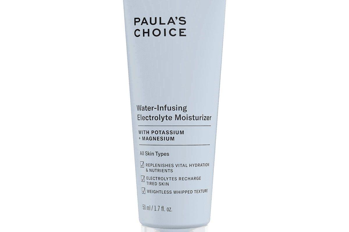paulas choice water infusing electrolyte moisturizer