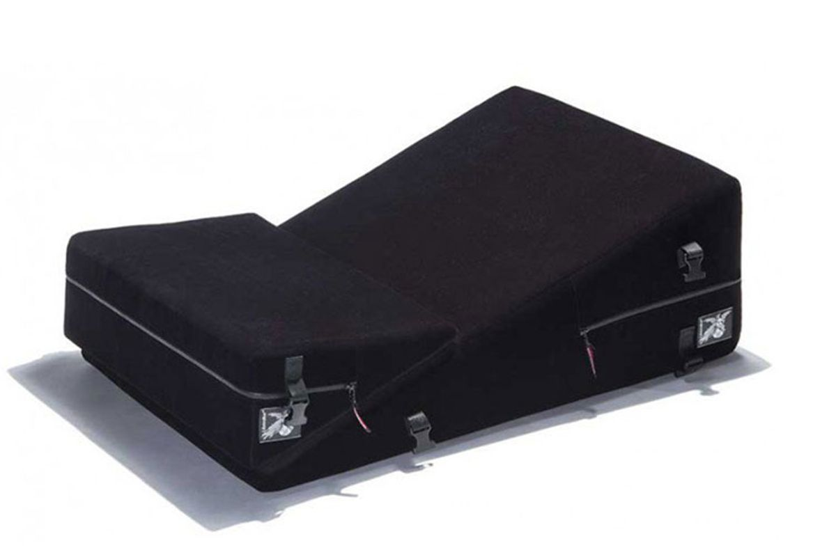liberator leatherworks black label wedge ramp combo