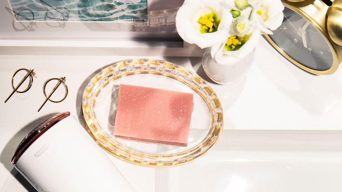 pretty bar soap